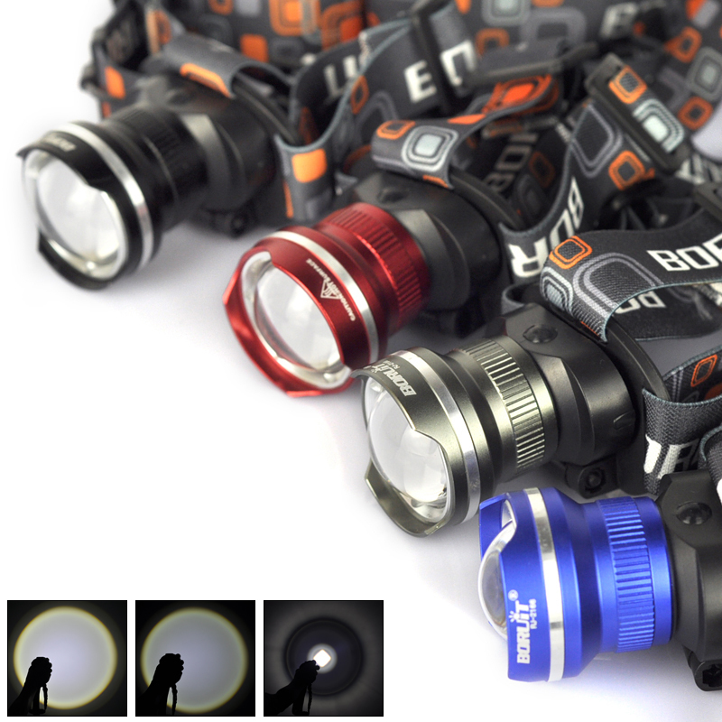 4 Color Ultra Bright 1800 Lumen T6 LED Headlamp AA Headlight Zoomable XM-L T6 Head Lamp Light Lantern for Camping Hiking Cycling<br><br>Aliexpress