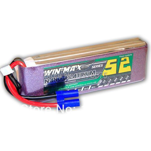 Best Selling Winmax 5200mAh 11.1V 80C MAX 3s Lipo Battery Pack Akku For RC Helicopter Car Boat(China (Mainland))
