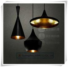 Diseño a Tom Dixon lámpara pendiente de la luz del golpe de Tom Dixon Chandelier shade cobre luces, ABC ( alto, gordo y ancho ), 3 unids/pack(China (Mainland))