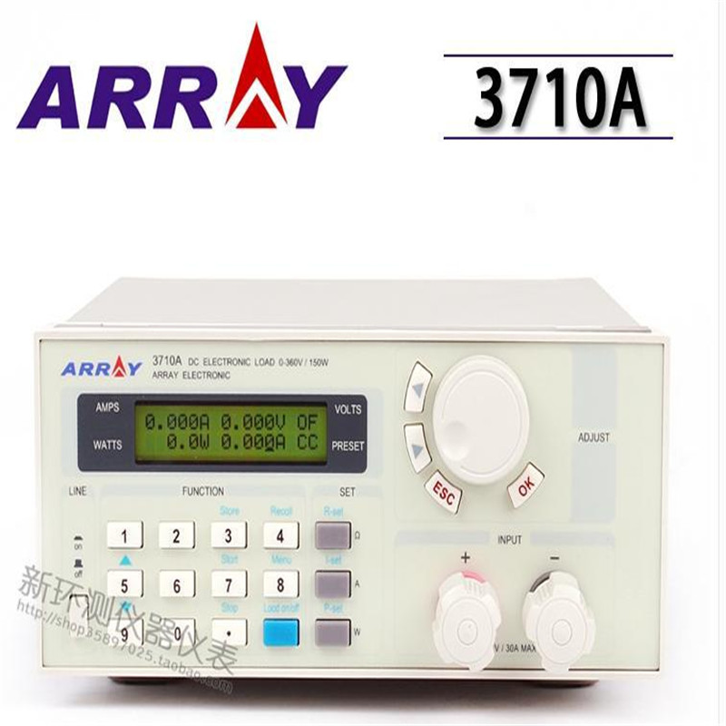 (ARRAY) 3710A single-channel programmable electronic load 150W with backlight 360V / 30A Programmable dc electronic load tester