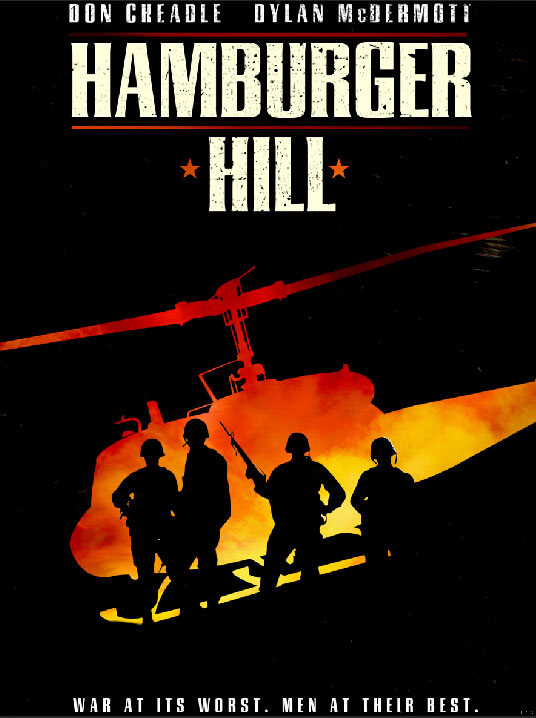 Hamburger Hill Helicopter War Movie Art Huge Print Poster TXHOME D7813(China (Mainland))