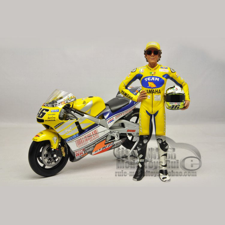 Valen Rossi Rossi MotoGP 1:12 Mini cut with scenes with 2006 figures<br><br>Aliexpress