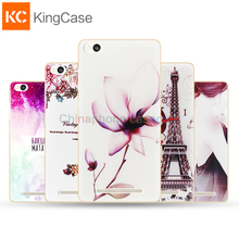 Silicon Case For Xiaomi Redmi 3 Mobile Phone High Quality Painting Protector Back Cover Case Protective Accessories