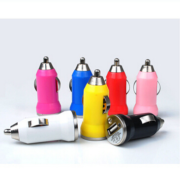 2015 1pcs color Sale 5V 1A mini usb car charger adapter one port for iphone4 4s 5/5s 6 for mobile smart phone(China (Mainland))