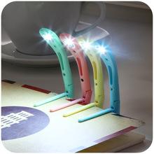 Lovely macarons portable creative energy-saving LED reading lights, reading lights Book Light K3833(China (Mainland))