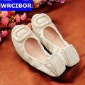 2017 Egg roll shoes Women Genuine Leather Mother Shoes Moccasins Women s Soft Leisure Flats Female
