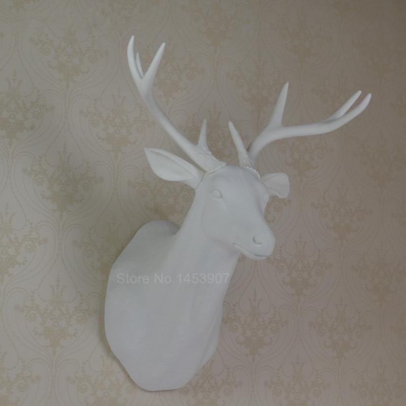 Wall Decoration Deer Head : Deer head wall hanging moose decoration