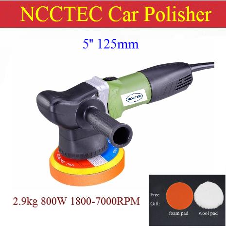 how to use an orbital buffer polisher