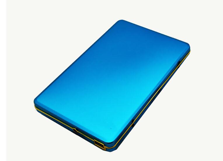"Free shipping SAMSUBG 2016 portable 2.5"" black metal 2TB USB2.0 External hard drive disk Russia HDD 2000GB Mobile hard disk(China (Mainland))"