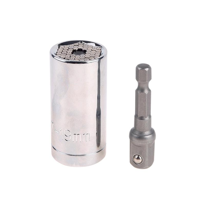 Gator Grip Universal Socket Power Drill Adapter Reflex Tool Kit 2pcs Set 71963