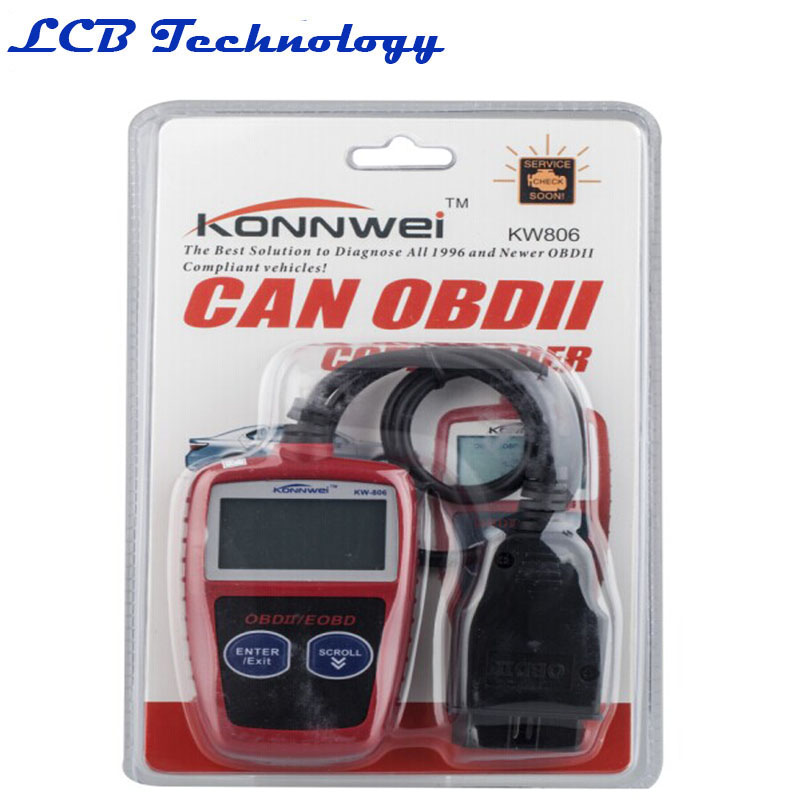 KONNWEI KW806 OBDII Code Reader Scanner OBD2 MS309 Data Tester Car Diagnostic Auto Scan Tool(China (Mainland))