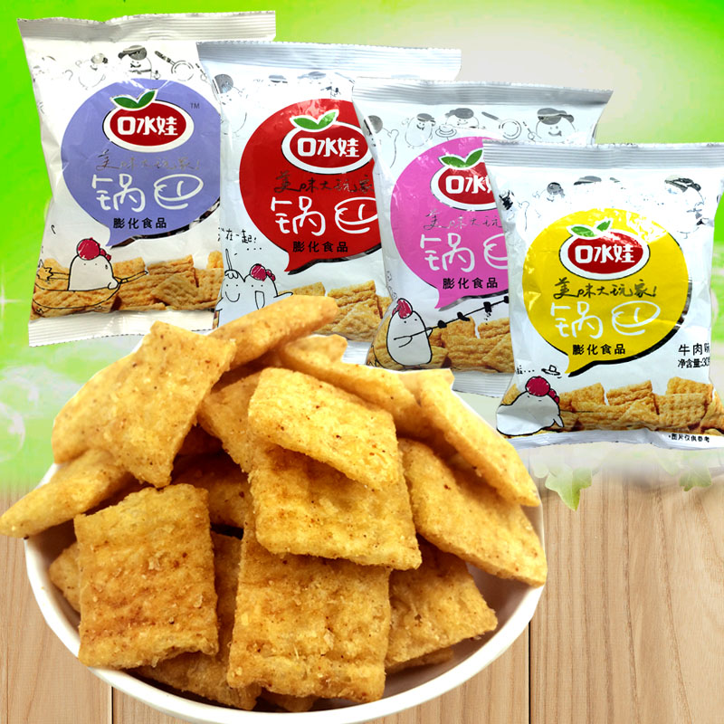flavor crispy rice puffed snack export manual food taste of childhood taste 30g Food Authentic native