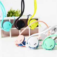 Hot!!! Universal Headset Neckband Headphone For Kids Colorful Sport Headphone For Mobile Phone Iphone Samsung Xiaomi Tablet