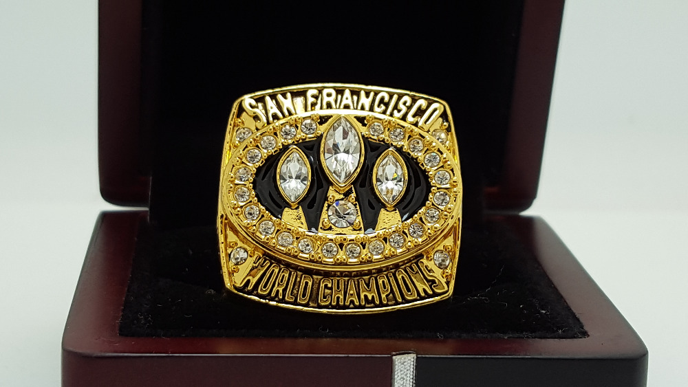 1988 San Francisco 49ers super bowl Championship Ring 11 Size high quality in stock for sale .(China (Mainland))