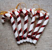Продать a lote 10 сумки коса украшения тростник 9 см пластик декорации для вечеринок дети конфеты подарки внутренний для дома деко