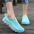 2016 New Summer Men Casual Shoes Breathable Mesh Zapatillas For Super Light Flats Shoes Foot Wrapping
