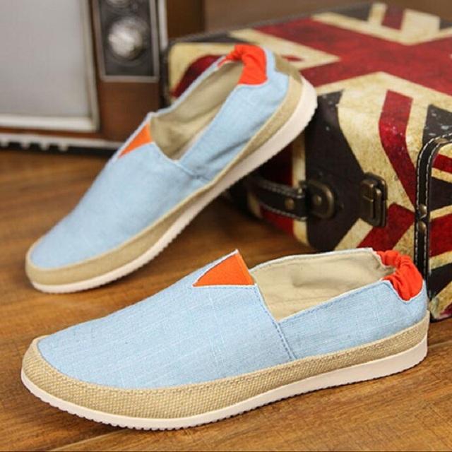 Новая мода Мужская Обувь Британский Стиль На Лето Удобные Мужчины Квартиры Мокасины ...