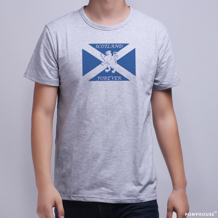 Гаджет  2015 j FOREVER LION RAMPANT LION FLAG Scotland t-shirts men with short sleeves None Изготовление под заказ