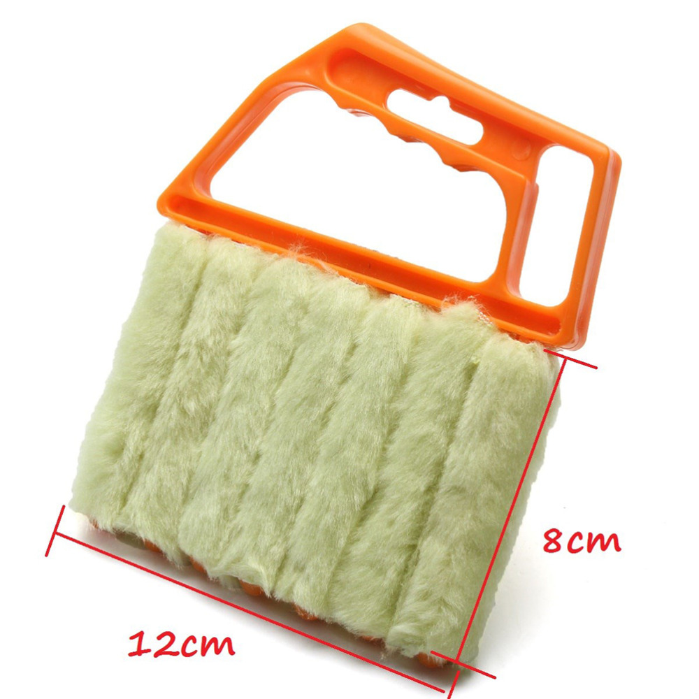 Window Air Conditioner Duster Cleaner 1PCS Mini Dust Cleaning Brush 7 Hands Held Blind Cleaner Microfibre Venetian Blind Brush(China (Mainland))