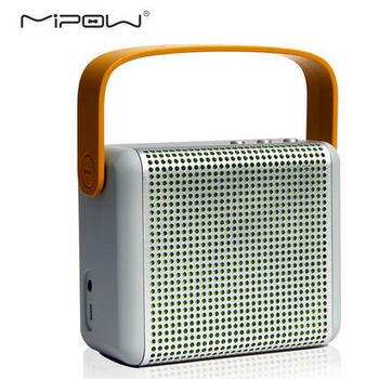 Mipow BOOMAX BTS1000 портативный беспроводной Bluetooth стерео колонки сабвуфер с bulit микрофон громкой связи со съемной ручкой