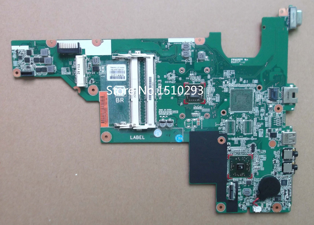 657324-001 Free shipping for HP 2000 motherboard Compaq Presario 435 CQ57 series CPU E300 laptop system board Full function test(China (Mainland))