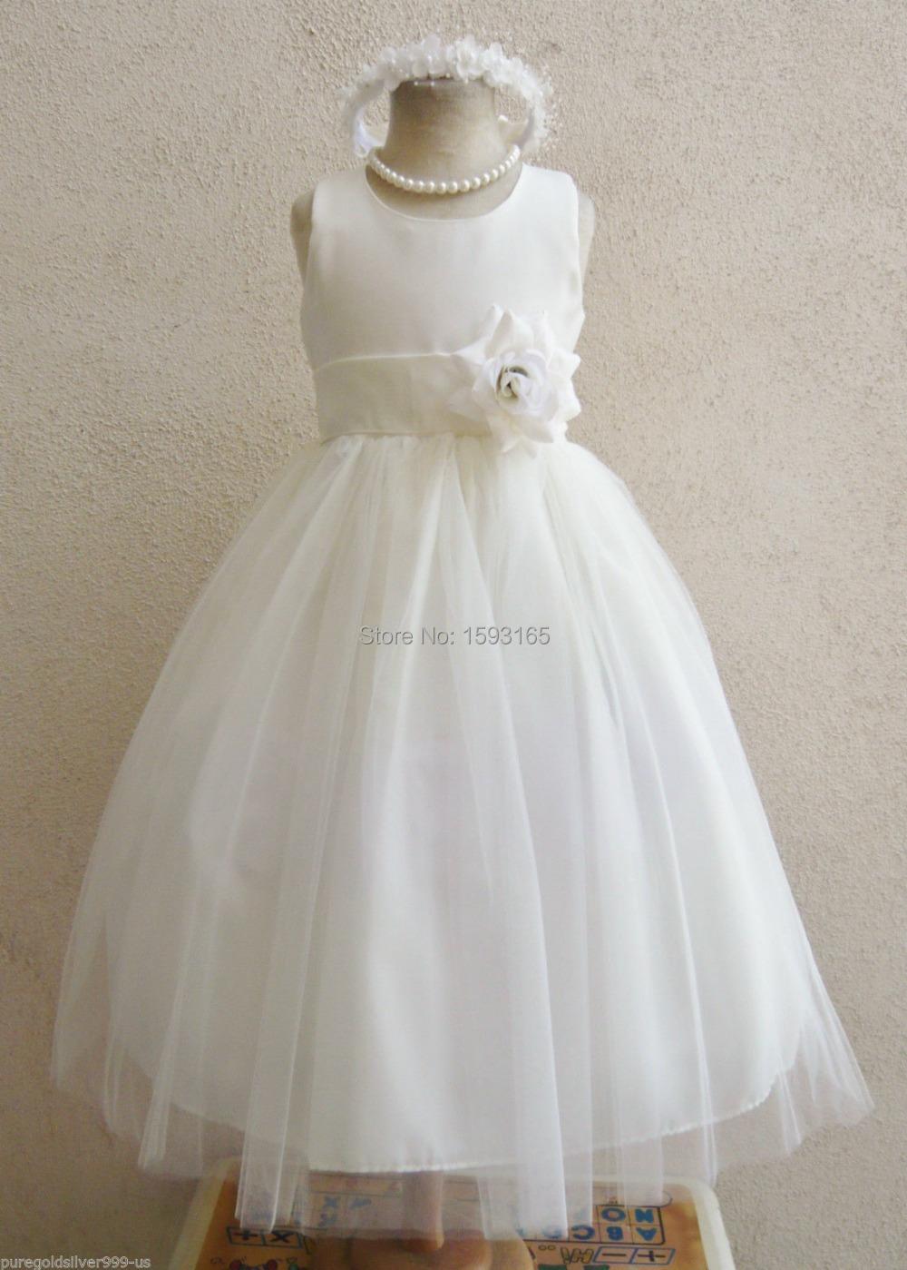Size 4 Flower Girl Dresses 99