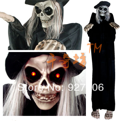 1 6m height halloween props decorations tricky terrorist for M m halloween decorations