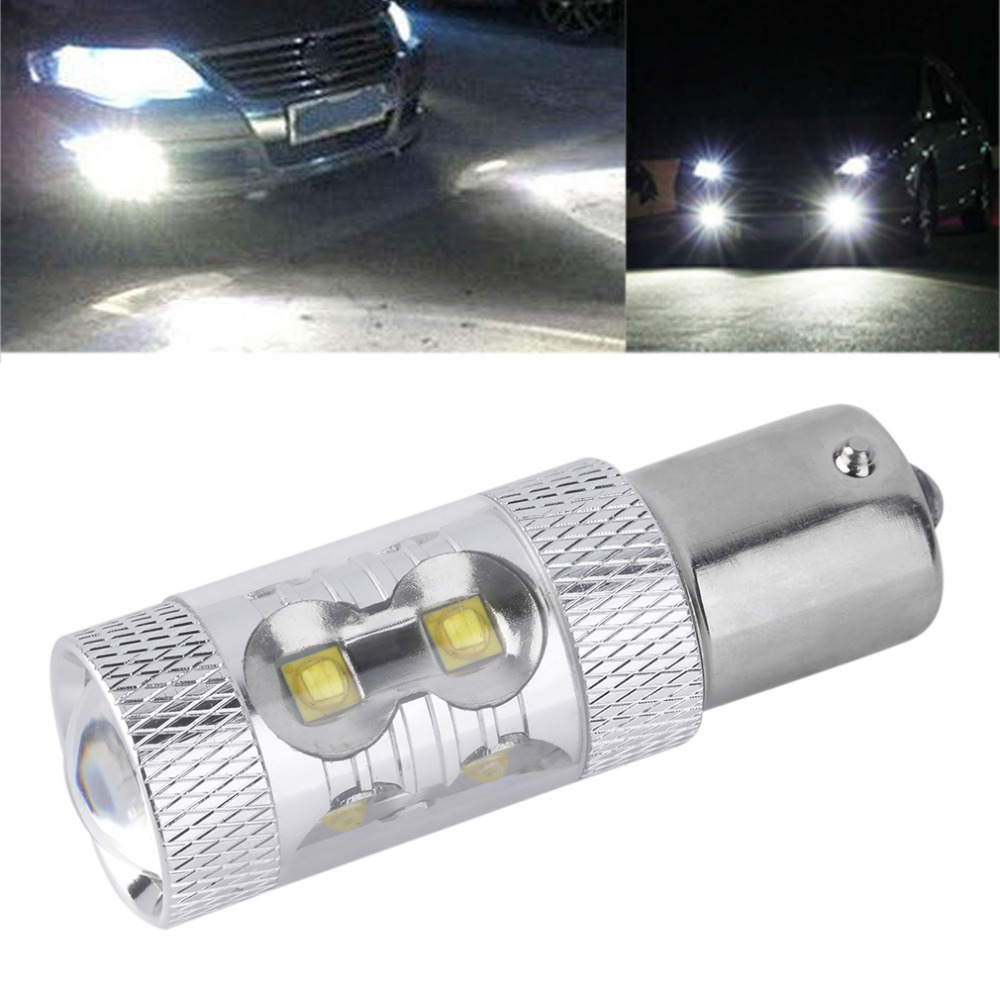 1PC Hot Sale 50W 1156 S25 P21W BA15S LED Backup Light 12V 24V Car Reversing Light Bulb Car Lighting Parking Fog Light(China (Mainland))