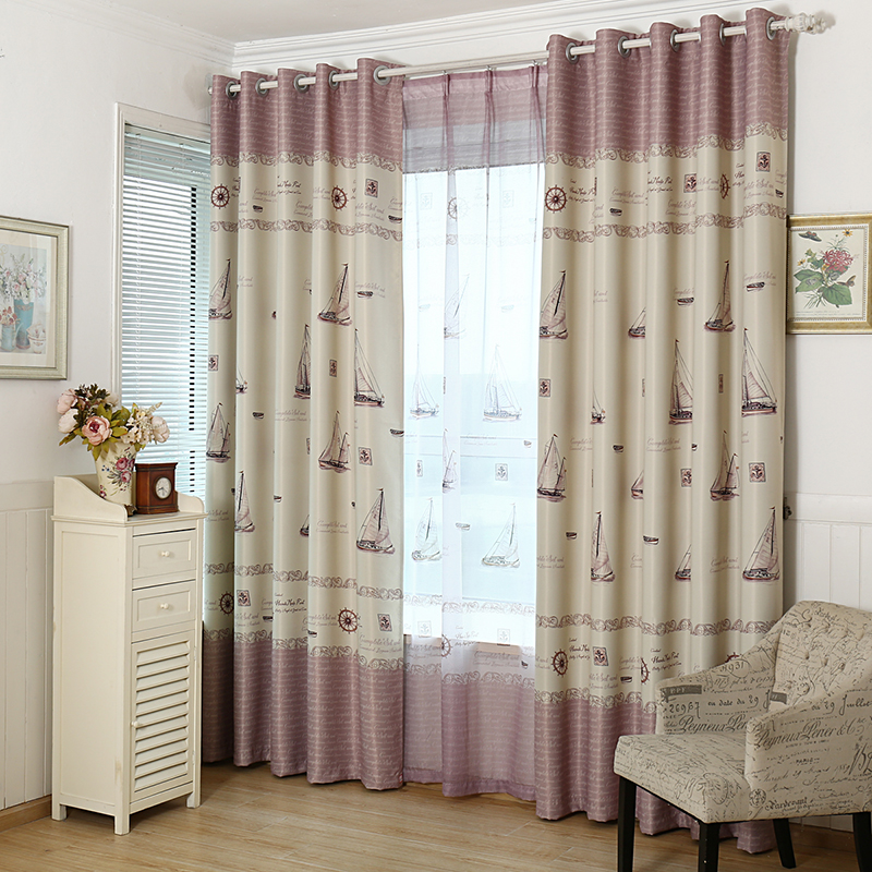 Online buy wholesale boat window shades from china boat for Boys curtain material