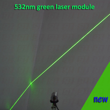 200mw green laser module WITH LINE  shape beam, with cooling device and power adapter AC110-240V, plug and use  long time work(China (Mainland))