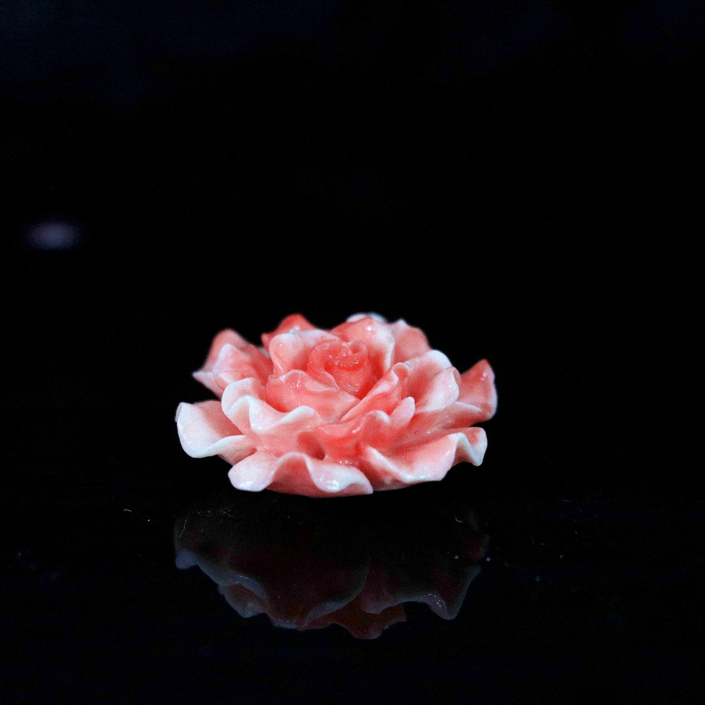 Newly!!Charming synthetic pink coral flower beads 5x7mm 10x20mm 4x30mm women lady wholesale 5pcs B926(China (Mainland))