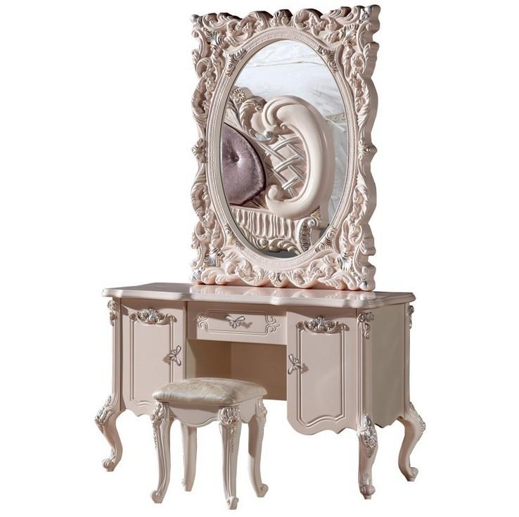 white European mirror table French furniture 09<br><br>Aliexpress