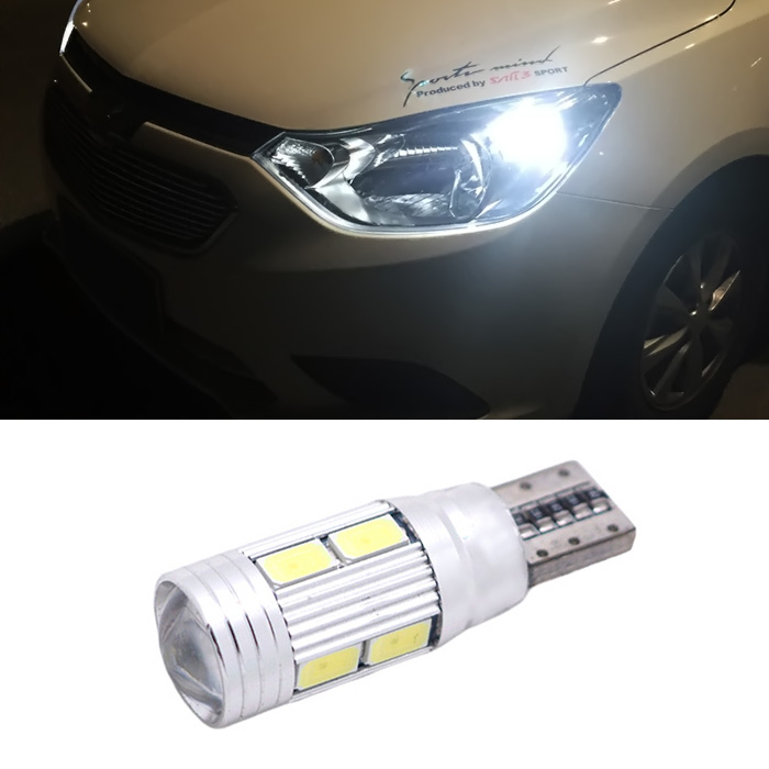 2x TOYOTA MR2 toyota mr2 roadster T10 canbus W5W 5630SMD 10LED clearance Light car parking Light Bulbs(China (Mainland))