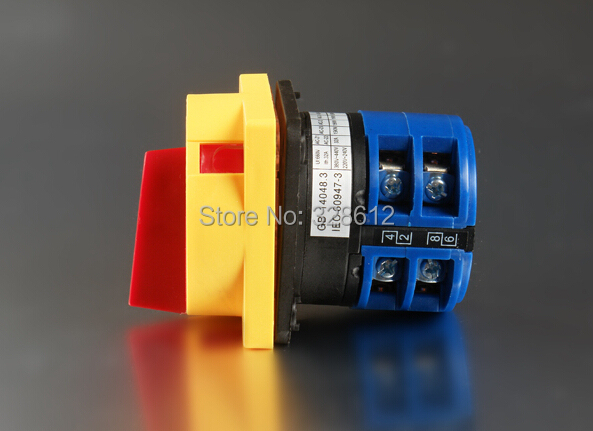 Electrical Equipment & Supplies> Switches> Rotary Switch> LW28GS Series Padlock type power cut-off switch>LW28GS-32A/2P(China (Mainland))