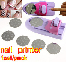 Free shipping,1pcs Professional Nail Art Stamp Stamping Polish Nail DIY Design Decoration Manicure Kit Tool Wholesale(China (Mainland))