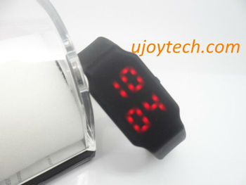2 pcs LED Watch USB Flash Drive Real 2GB 4GB 8GB 16GB 32GB Christmas Gift Silicone wristband USB without gift Box Free shipping