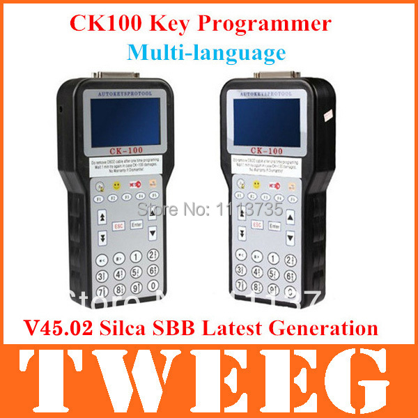 Ck-100 Car Ck100 Key Programmer V45.06V45.02 Silca Sbb Key Ck 100 Auto Key Pro Tool Immobiliser Transponder Programming Machine(China (Mainland))