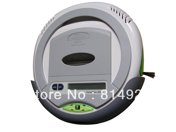 (Free to EURO) Robotic vacuum cleaner QQ2L-B time control,auto-charege cleaner,origina design,good quality,good price
