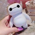Newest Big Hero 6 Baymax 10000MAH power bank Cute Cartoon powerbank portable External battery pack charger