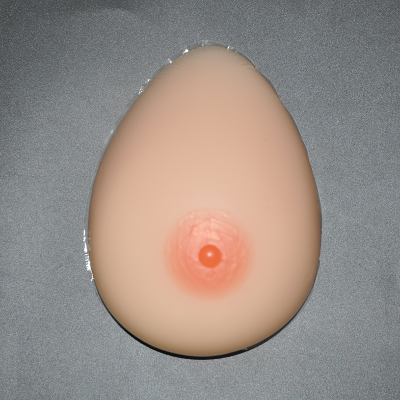 Фотография 1600g/pair High-grade skin medical silicone breast Teardrop-shape simulation fake breast for Crossdresser Drag queen Transgender