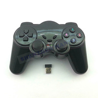 HOT SALE 1PC FREE SHIPPING Wireless vibration PC 2.4Ghz USB Gamepad Controllers joystick game controller #DW017