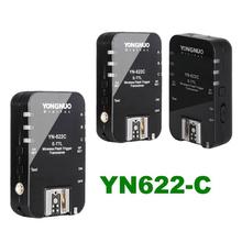Buy 3PCS Transceivers YONGNUO TTL YN-622C YN622 C Wireless E-TTL Flash Trigger Canon EOS DSLR Speedlite for $114.85 in AliExpress store