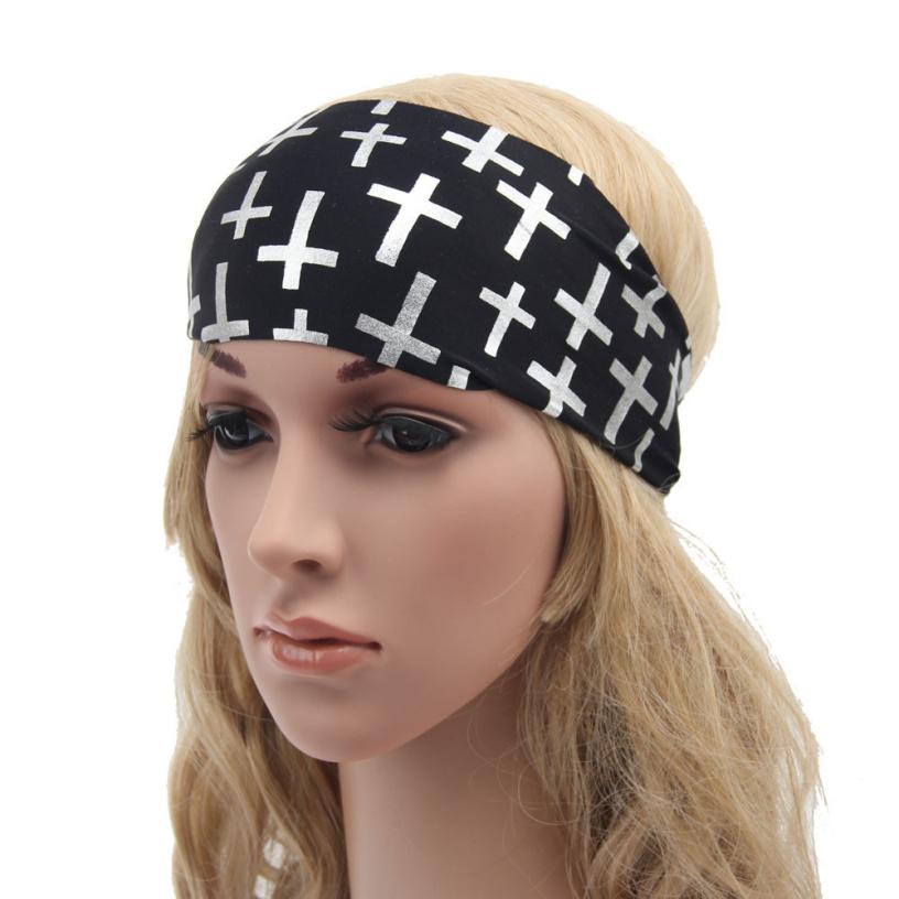 Best Deal Wide Soft Boho Headband Running Headband Womens Hair Accessories White Black Headwrap Gift 1PC(China (Mainland))