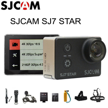 Original SJCAM SJ7 Star WiFi 4K 30FPS 2' Touch Screen Remote Action Helmet Sports DV Camera Waterproof Ambarella A12S75 Chipset(China (Mainland))