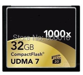 50% OFF Full Capacity Compact Flash CF UDMA 7 Memory Card 1000X 32GB 64GB 128GB MLC For digital Cameras DVR Free shipping(China (Mainland))
