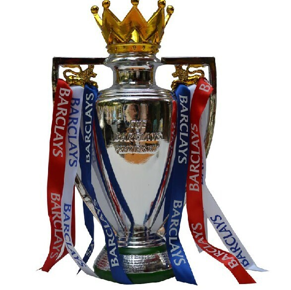 British Cup 44cm English Premiership Champions THE F.A. barcley ENGLISH PREMIER LEAGUE CUP Football Replica Trophy Cup(China (Mainland))
