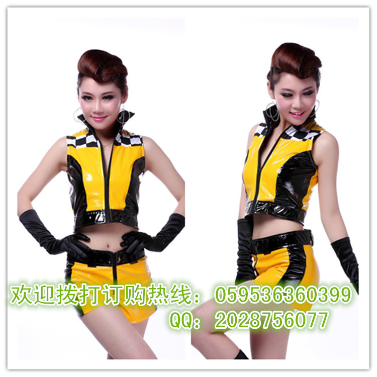 The British dance jazz dance cheerleading clothing apparel DS costume overalls costumes football baby suit(China (Mainland))