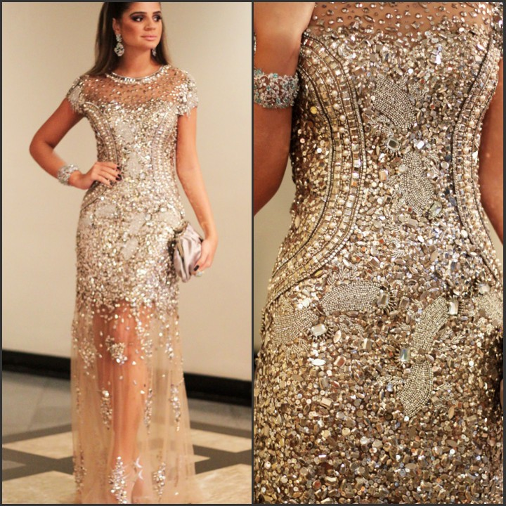 Amazing  Women Evening Party Gowns  Prom Dresses  Pinterest  Sleeve Prom