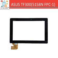 """(5158N FPC-1) 10.1 """"Pour ASUS Eeepad TRANSFORMER TF300 TF300T écran tactile digitizer capteur en verre Pièces De Rechange Noir(China (Mainland))"""