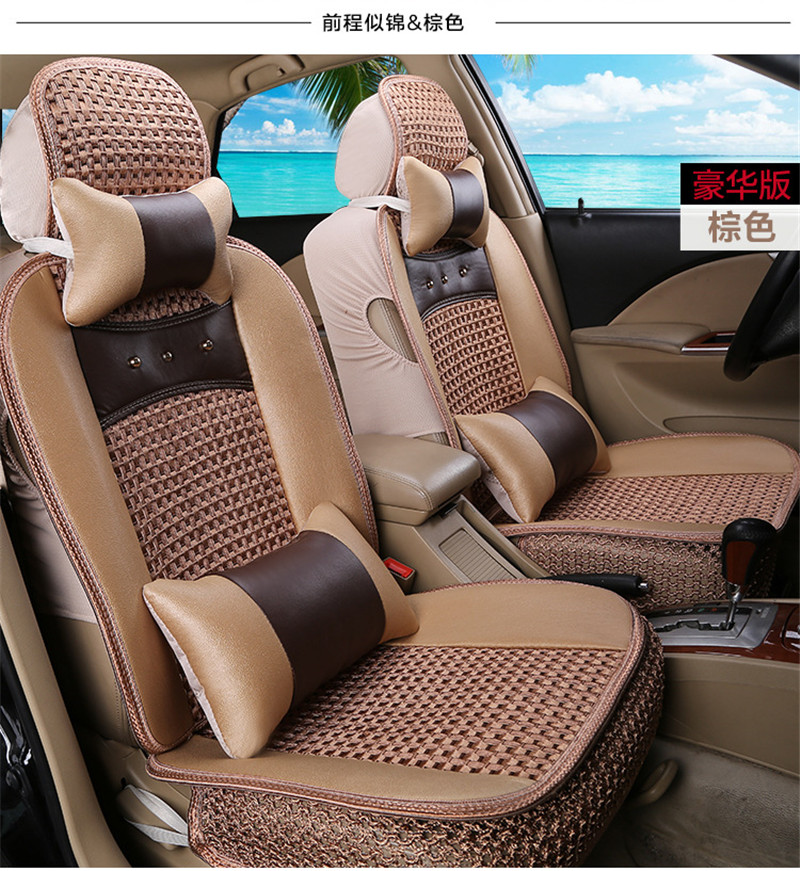 new car styling interior accessories luxury 5 seat cover universal front rear business fashion. Black Bedroom Furniture Sets. Home Design Ideas